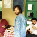 1992. Τα «Παιδιά απ' την Πάτρα» σε περιοδεία. 1994. Με