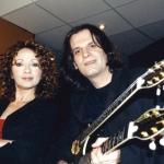 2002. Με μια μεγάλη τραγουδίστρια, τη Γλυκερία, στην ηχογράφηση του τραγουδιού «Πρόκληση».
