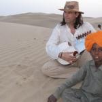 2008. Μουσικό ταξίδι στην Ινδία.