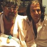 2013. Με τον Σταμάτη Κραουνάκη στην ηχογράφηση του τραγουδιού «Φίλα με», για το δίσκο Ξεριζωμός.